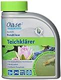Oase 43140 AquaActiv PondClear Teichklärer 500 ml - sofort wirkende Teichpflege bindet Schwebealgen und wirkt gegen nicht filtrierbare Verunreinigungen im Teich Schwimmteich Koiteich