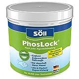 Söll 11003 PhosLock AlgenStopp Phosphatbinder 500 g - ganzjährig anwendbare Teichpflege zur dauerhaften Phosphatbindung und Algenvorbeugung im Teich Pflanzenteich Fischteich Koiteich