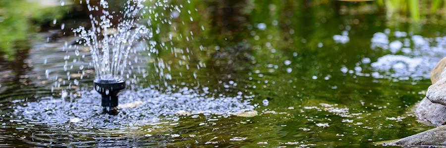 Teichfiltertest Unterwasserfilter