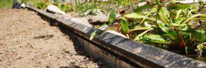 Kapillarsperre am Gartenteich